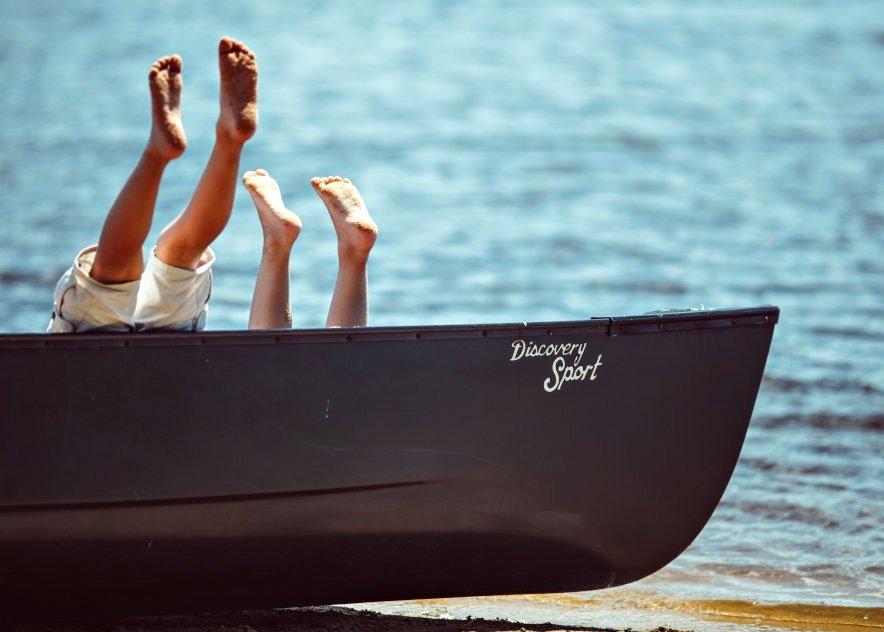 Paddle et canoë sur les étangs