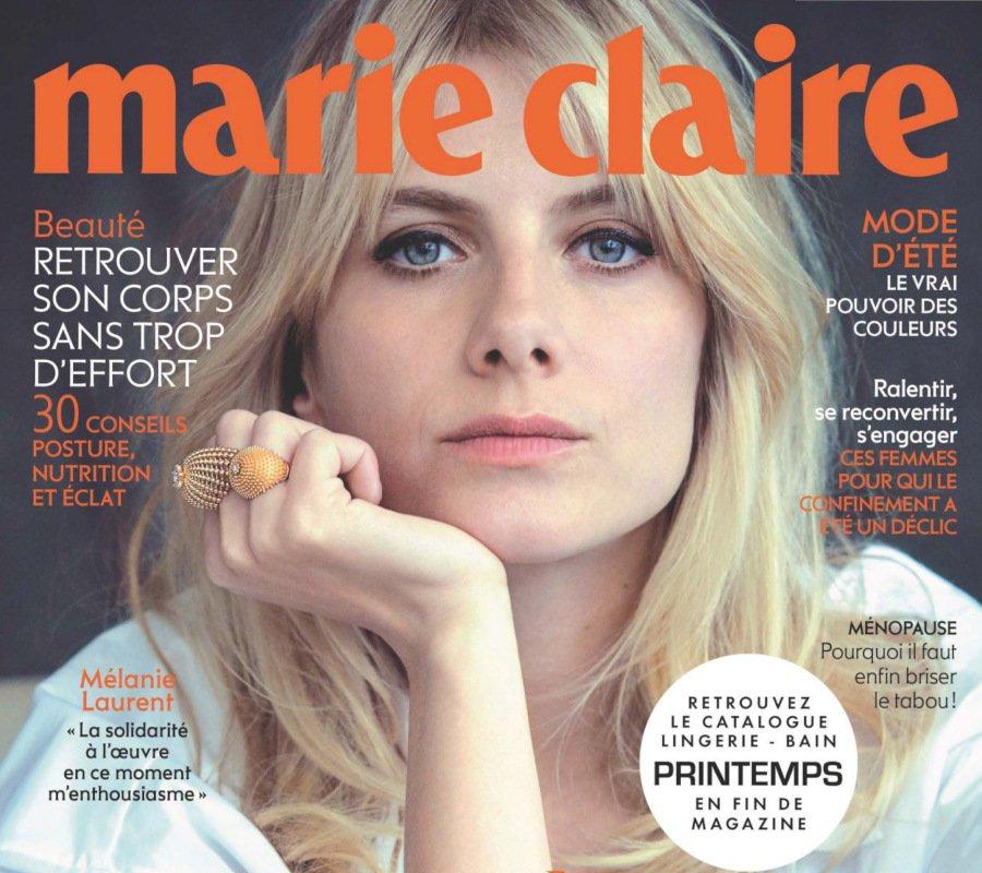 Une de Marie-Claire