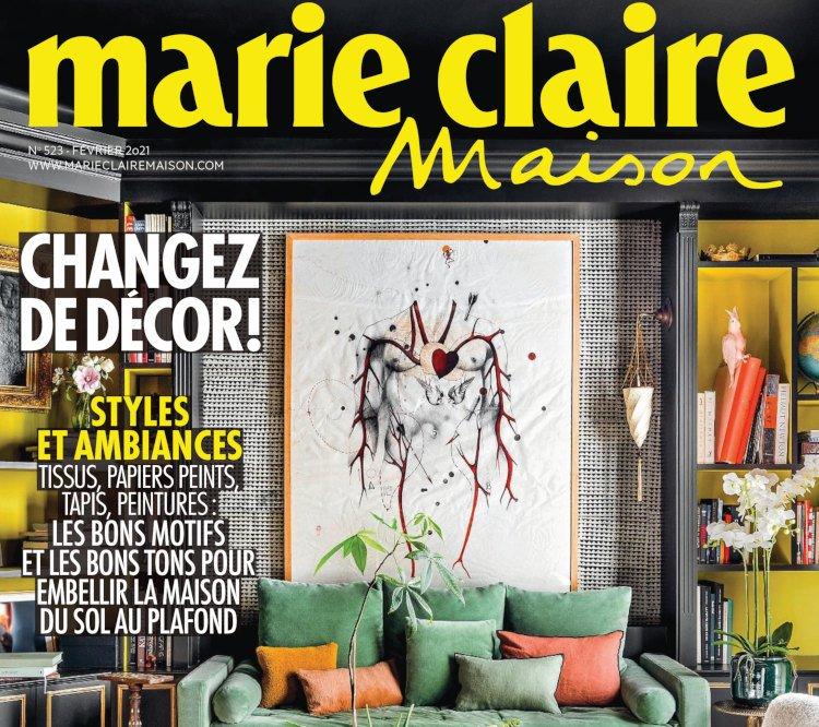 Couverture Marie-Claire Maison